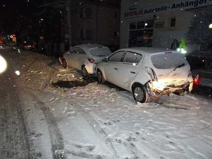Verkehrsunfall mit Verletzten