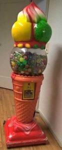 Entwendeter Spielzeugautomat