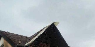 Brandlegung nach Einbruch bei der Feuerwehr Quelle: privat
