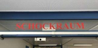 Eingang Schockraum Standort Buchen (Foto: Neckar-Odenwald-Kliniken)