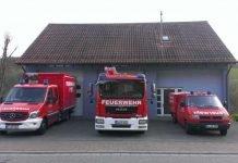 Einsatzfahrzeuge der Feuerwehr Olsbrücken (Foto: Feuerwehr VG Otterbach-Otterberg)