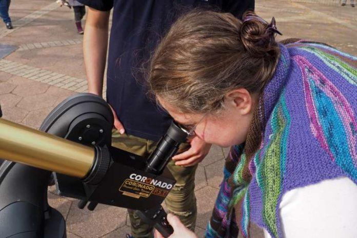 Astrophysikerin Stefanie Schwemmer