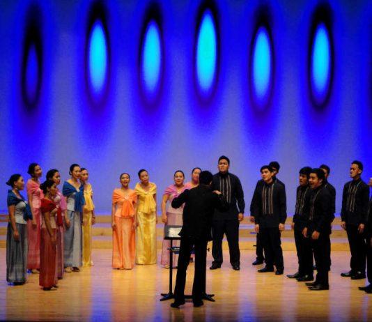 Der gemischte philippinische Kammerchor IMUSICAPELLA