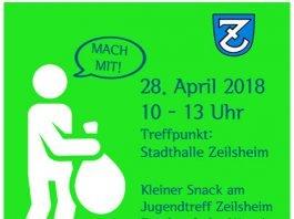 Plakat Sauberkeitstag Zeilsheim_2018 (Quelle: Vereinsring Zeilsheim / Regionalrat Zeilsheim)