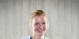 Sarah Brüßler hat nach der 1. Qualifikation gut Lachen (Foto: GES/Helge Prang, Rheinbrüder)