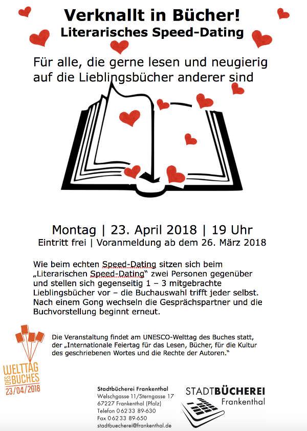 Flyer der Stadtbücherei Frankenthal