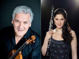 Pinchas Zukerman (Foto: Cheryl Mazak) und Sharon Kam (Foto: Maike Helbig)