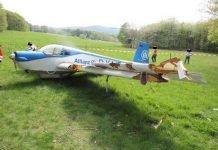 Der Pilot hatte einen Schutzengel und rettende Äste - Absturz in Eßweiler