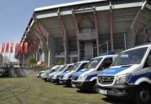 Polizei Fahrzeuge Kaiserslautern Stadion
