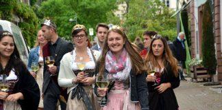 Weinprinzessinnen beim Haardter Weinfest 2017