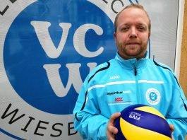Dritter Mann im Trainer-Team: Olaf Minter wird Co-Trainer und Scout beim VCW (Foto: VC Wiesbaden)
