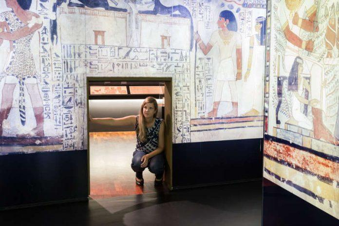 Impression aus der Ägypten-Ausstellung (Foto: rem/Maria Schumann)