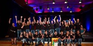 Bigband der Albert-Schweitzer-Schule Alsfeld - Gewinner beim 7. Hessischen Schulbigband-Wettbewerb 2018 (Foto: hr/Sascha Rheker)