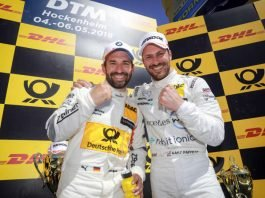 Timo Glock (BMW), Gary Paffett (Mercedes-AMG) (Foto: ITR GmbH)