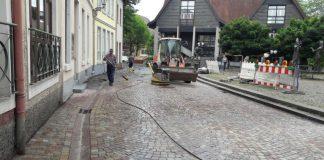 Die Ladenburger Hautstraße (Foto: Stadtverwaltung Ladenburg)