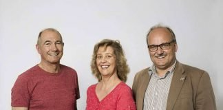 Harald Wagner, Karin Vahlberg-Ruf und Michael Schmidt (Foto: traffiQ Frankfurt)