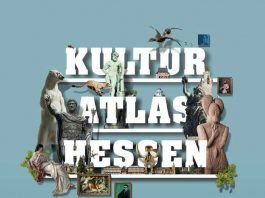 Titelbild des Kulturatlas' (Quelle: Hessisches Ministerium für Wissenschaft und Kunst)