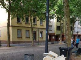 Abgestellte Badezimmereinrichtung (Foto: Stadt Speyer)