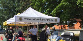 ADAC und Polizei informierten auf der Tank- und Rastanlage Bruchsal West an der A5 (Foto: ADAC Nordbaden e.V.)