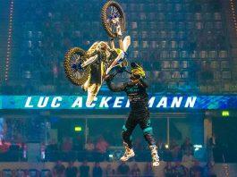 Luc Ackermann gewann die NIGHT of the JUMPs in Mannheim (Foto: Helmut Dell)