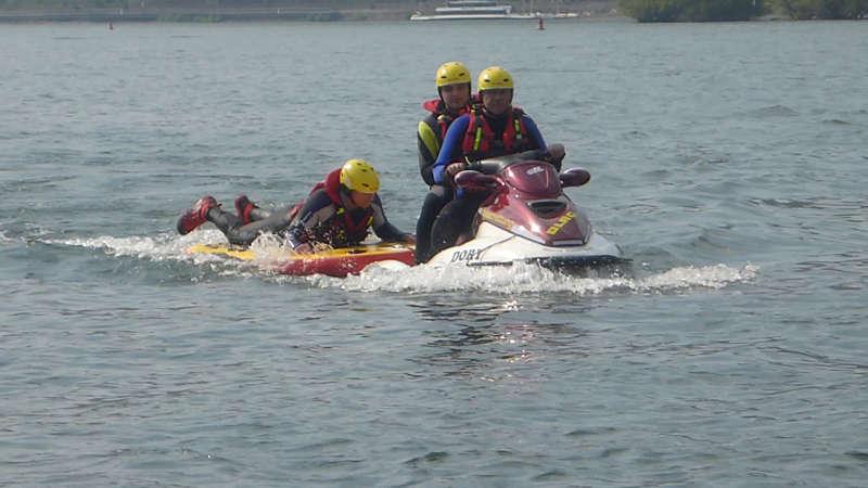 """""""Air Surf Rescue"""" Board (Foto: DLRG Bad Kreuznach)"""