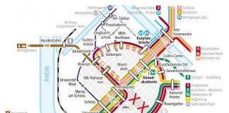 Umleitungen zum Stadtfest (Quelle: rnv GmbH)
