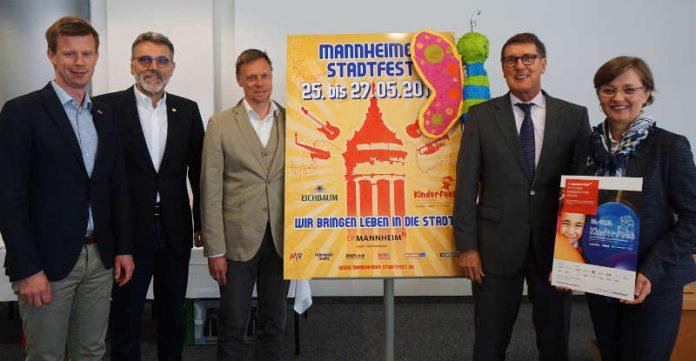 Mannheim feiert das Stadtfest vom 25. bis 27. Mai 2018 (Foto: Stadt Mannheim)