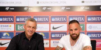 SVWW-Sportdirektor Christian Hock (l.) und Giuliano Modica (Foto: svww.de)
