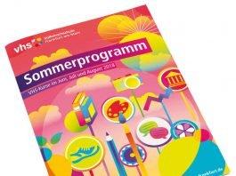 Cover Kursprogramm der Volkshochschule (VHS) für Sommer 2018 (Foto: VHS Frankfurt)