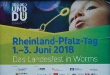 Der Rheinland-Pfalz-Tag 2018 in Worms wird vom 1. bis 3. Juni 2018 gefeiert (Foto: Holger Knecht)