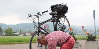 Ein guter Service für Radler (Foto: Stadtverwaltung Weinheim)