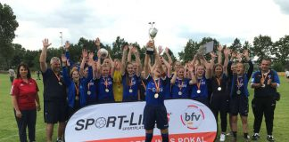 Pokalsieger B-Juniorinnen (Quelle: bfv)