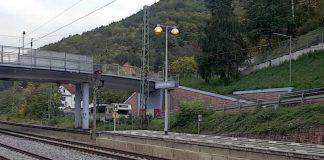 Am Bahnhof Lambrecht (Foto: Holger Knecht)