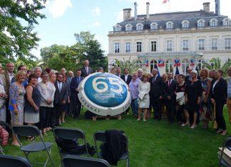 Am vergangenen Wochenende konnte Ettlingen mit seiner französischen Partnerstadt Epernay das 65-jährige Jubiläum feiern. Eine überdimensionale Champagner-Kapsel wird an das Jubiläum erinnern. (Foto: Stadtverwaltung Ettlingen)
