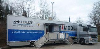 Informationsfahrzeug des Landeskriminalamtes Baden-Württemberg (Foto: Polizei BW)