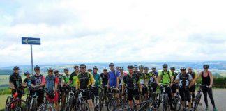Mountain-Bike-Tour mit Oberbürgermeister Jörg Albrecht (Foto: Stadtverwaltung Sinsheim)