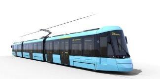 Das neue Gesicht der Frankfurter Straßenbahn (Quelle: VGF)