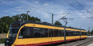 Die ET 2010 der Albtal-Verkehrs-Gesellschaft (Foto: AVG/Uli Deck)