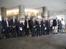 Gedenkfeier in der Frankfurter Paulskirche (Foto: Reuss)