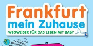 Titelbild der Broschüre 'Frankfurt mein Zuhause' (Quelle: Frankfurter Kinderbüro)