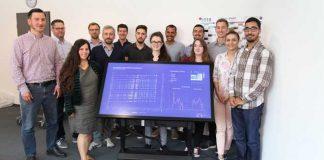 Die Studierenden der Hochschule Mannheim unter der Leitung von Prof. Dr. Till Nagel (Quelle: Rhein-Neckar-Verkehr GmbH)