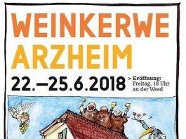 Im Landauer Stadtdorf Arzheim wird vom 22. bis zum 25. Juni Weinkerwe gefeiert. (Quelle: Ortsverwaltung Arzheim)