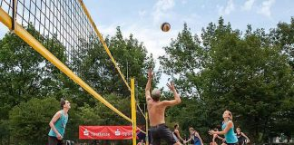 Beach-Volleyball beim SSC Karlsruhe (Foto: SSC Karlsruhe)