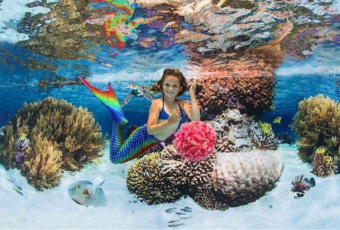 Einmal-Meerjungfrau
