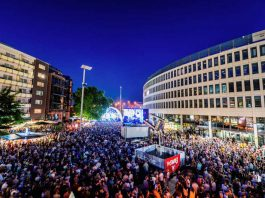 Stadtfest Ludwigshafen, im Bild der Berliner Platz (Foto: Michael Schepers)