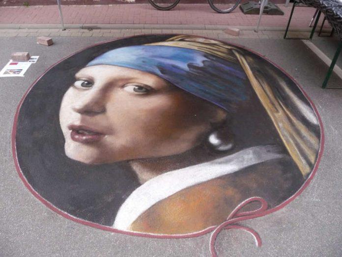 Madonnari-Malerei (Quelle: Stadt Speyer)
