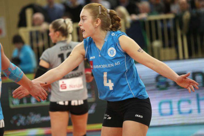 Tanja Großer und der VCW gehen nächste Saison nicht im Europapokal ans Netz (Foto: Detlef Gottwald)