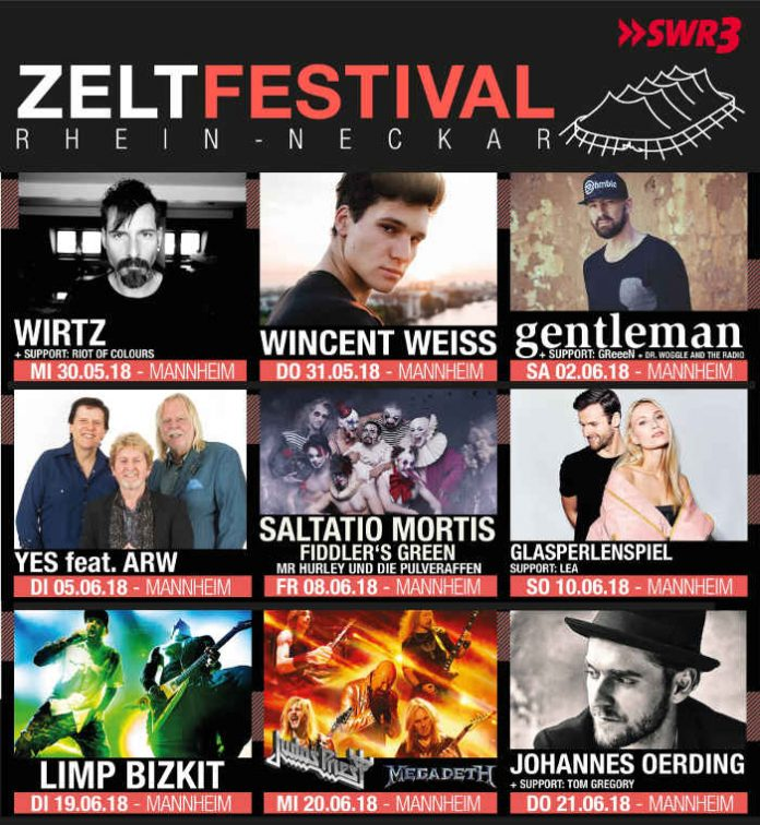 3. Zeltfestival Rhein-Neckar