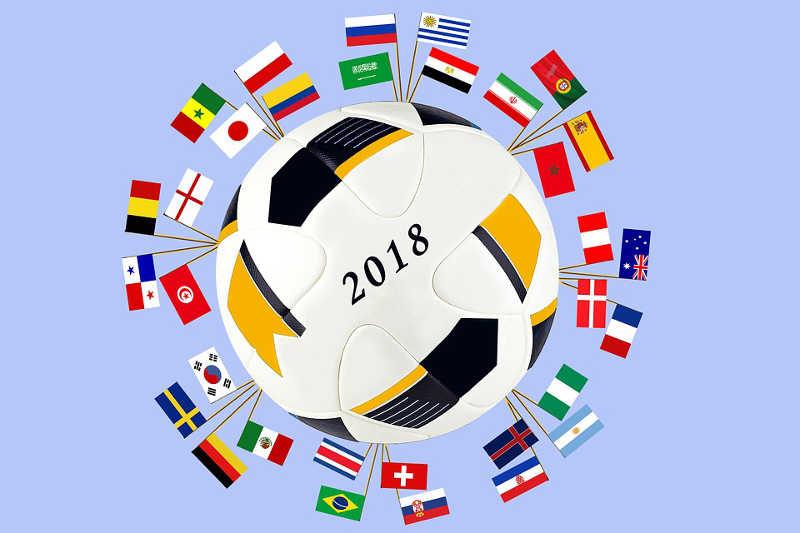 Vorfreude auf die Fußball-Weltmeisterschaft