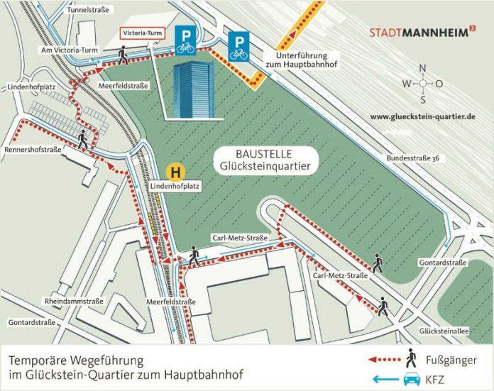Verkehrslage Mannheim